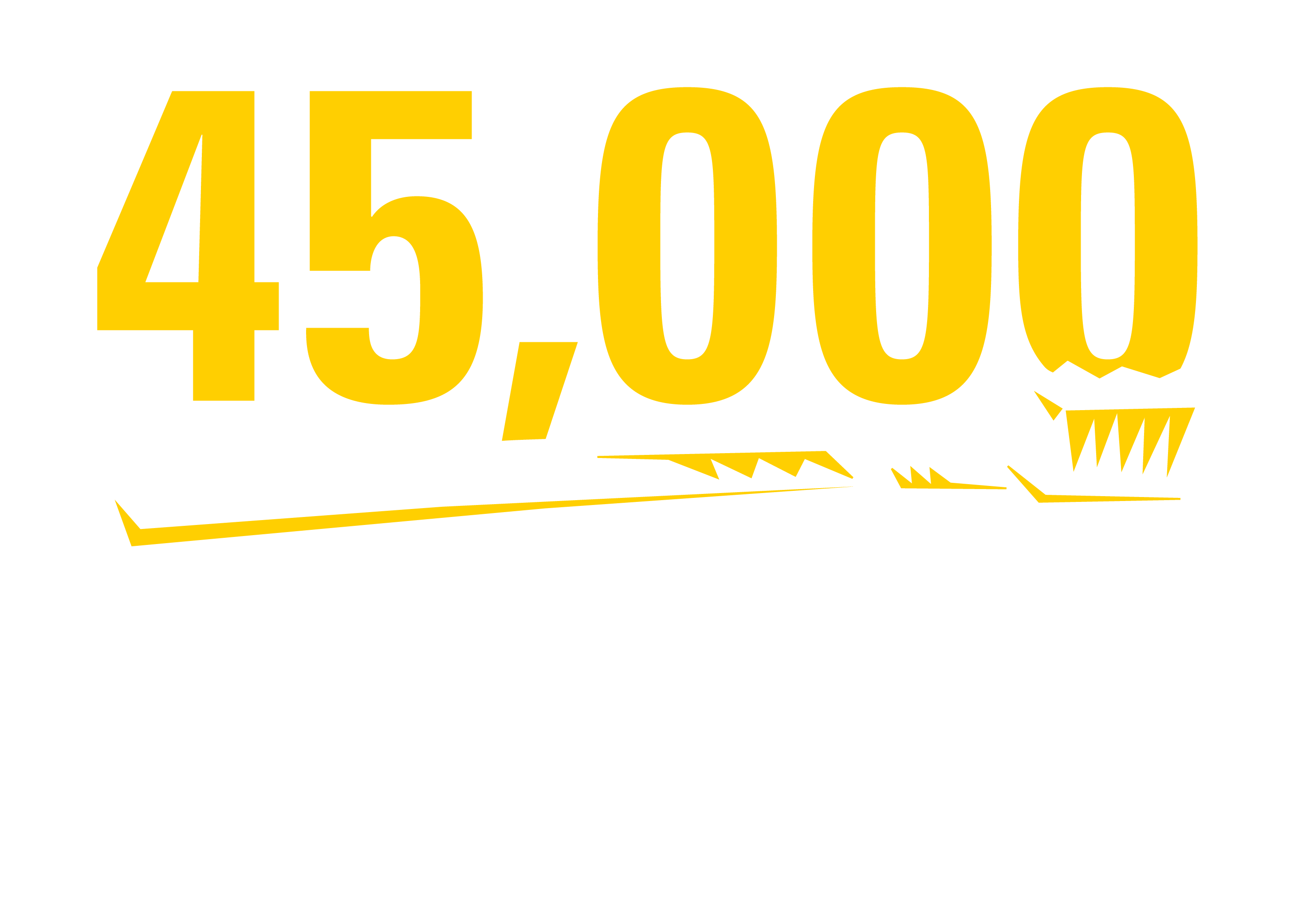 45,000 Toothbrushes Given out Every Year